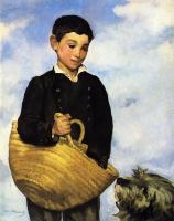 Edouard Manet : Boy with Dog