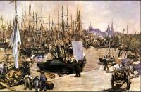 Edouard Manet : The Port of Bordeaux