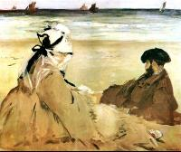 Edouard Manet : On the Beach II