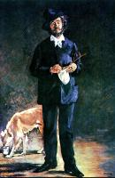 Edouard Manet : The Artis, Portrait of Marcellin Desboutin