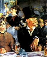 Edouard Manet : The Bock Drinkers