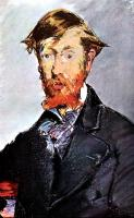 Edouard Manet : Portrait of George Moore