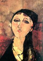 Amedeo Modigliani : Portrait of a Young Girl