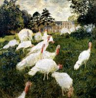 Claude Oscar Monet : The Turkeys