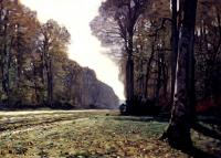 Claude Oscar Monet : The Road To Chailly