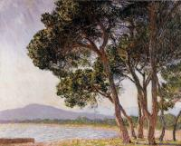 Claude Oscar Monet : Beach in Juan-les-Pins