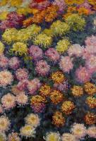 Claude Oscar Monet : Bed of Chrysanthemums