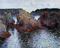 Claude Oscar Monet : Belle-Ile, Rocks at Port-Goulphar
