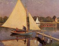 Claude Oscar Monet : Boaters at Argenteuil
