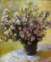 Claude Oscar Monet : Bouquet of Mallows