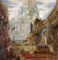 Gustave Moreau : The Triumph of Alexander the Great