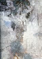 Gustave Moreau : The Chimeras detail