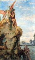 Gustave Moreau : Hesiod and the Muse
