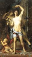 Gustave Moreau : The Young Man and Death