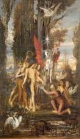 Gustave Moreau : Hesiod and the Muses