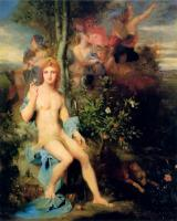 Gustave Moreau : Apollo and the Nine Muses