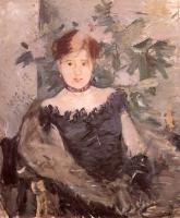 Berthe Morisot : Woman in Black