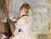 Berthe Morisot : Lady at her Toilet