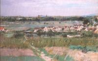 Berthe Morisot : The Village at Maurecourt