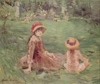 Berthe Morisot : In the Garden at Maurecourt II