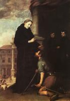 Bartolome Esteban Murillo : St  Thomas of Villanueva Distributing Alms