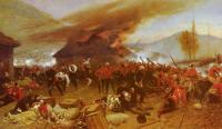 Alphonse-Marie-Adolphe De Neuville : The Defence Of Rorke's Drift