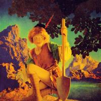 Maxfield Parrish : Jack and the Beanstalk