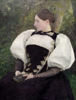 Pascal-Adolphe-Jean Dagnan-Bouveret : A Woman from Bern Switzerland
