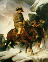 Paul Delaroche : napolean crossing the alps