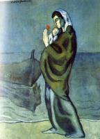 Pablo Picasso : maternity by the sea