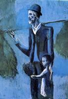 Pablo Picasso : the mistletoe seller