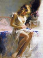 Pino Daeni : EARLY MORNING