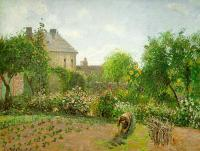 Camille Pissarro : The Artists Garden at Eragny
