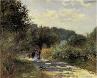 Camille Pissarro : A Road in Louveciennes