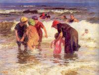 Edward Henry Potthast : The Bathers