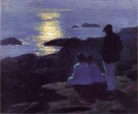 Edward Henry Potthast : A Summer's Night