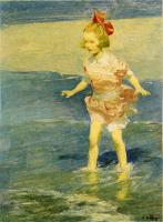 Edward Henry Potthast : In the Surf