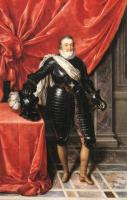 Frans The Younger Pourbus : Henry IV, King of France in Armour