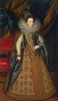 Frans The Younger Pourbus : Portrait of Margaret of Savoy, Duchess of Mantua