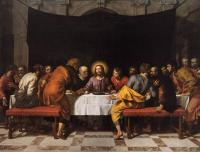 Frans The Younger Pourbus : The Last Supper