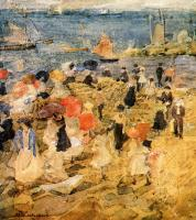 Maurice Brazil Prendergast : Early Beach