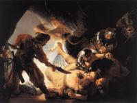 Rembrandt : The Blinding of Samson