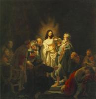 Rembrandt : The Incredulity of St. Thomas