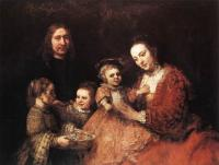 Rembrandt : Family Group