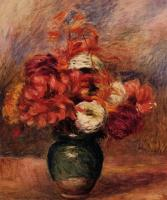 Pierre Auguste Renoir : Dahlias and Asters