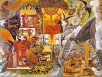 Diego Rivera : Pre-Hispanic America,Book cover for Pablo Neruda's,Canto General