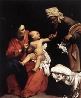 Carlo Saraceni : Madonna and Child with St Anne