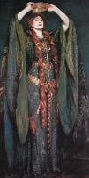 John Singer Sargent : Miss Ellen Terry as Lady Macbeth