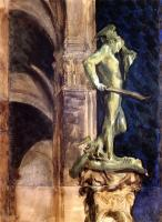 John Singer Sargent : Perseus by Night