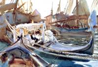 John Singer Sargent : Sketching on the Giudecca